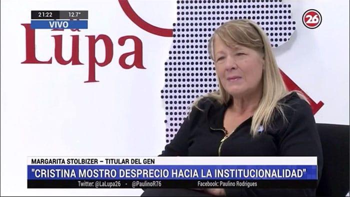 Cristina no prestó atención en el juicio, mostró desprecio hacia la institucionalidad.